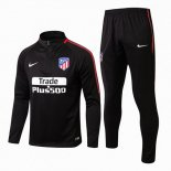 Sudaderas Ninos Atletico Madrid 2017 2018 Black