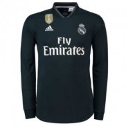 Camiseta Real Madrid Ml Segunda 2018 2019