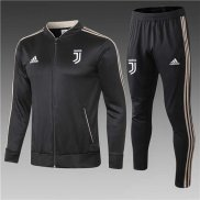 Chandal Juventus Black Grey 2018 2019