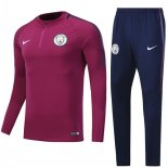 Sudaderas Manchester City 2017 2018 Red