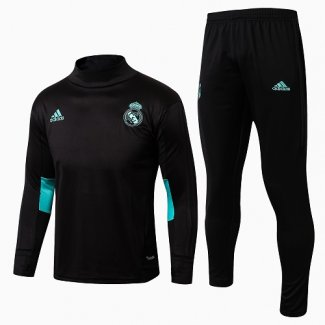 Sudaderas Real Madrid 2017 2018 Word Black