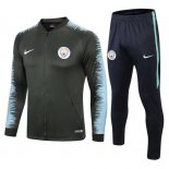 Chandal Manchester City Grey Blue 2018 2019