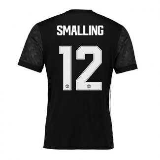 Camiseta Man United Ucl Smalling Segunda 2017 2018