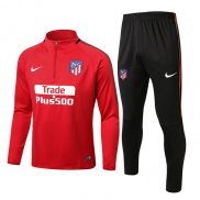 Sudaderas Ninos Atletico Madrid 2017 2018 Red