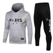 Chandal Psg Paris Grey Cappello 2018 2019