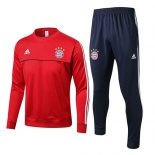 Sudaderas Ninos Bayern Munich 2017 2018 Gray Red
