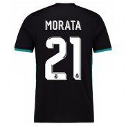 Camiseta Real Madrid Morata Segunda 2017 2018