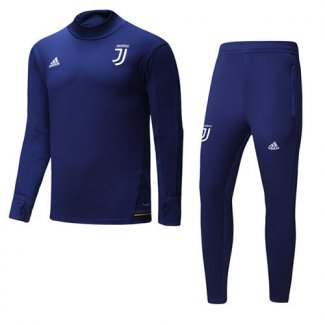 Sudaderas Juventus 2017 2018 Royal Blue
